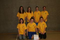 Mädchenriege Indiaca-Turnier 10.04.2014